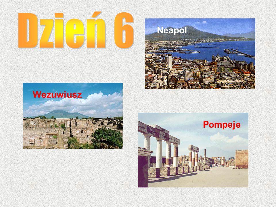 Dzień 6 Neapol Wezuwiusz Pompeje