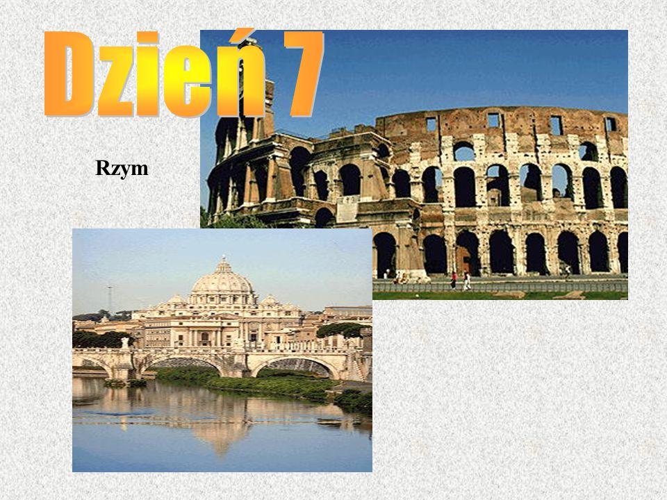 Dzień 7 Rzym