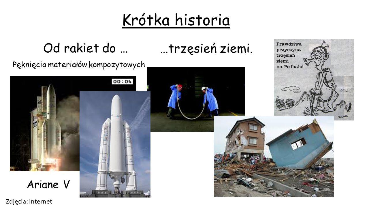 Krótka historia Od rakiet do … …trzęsień ziemi. Ariane V
