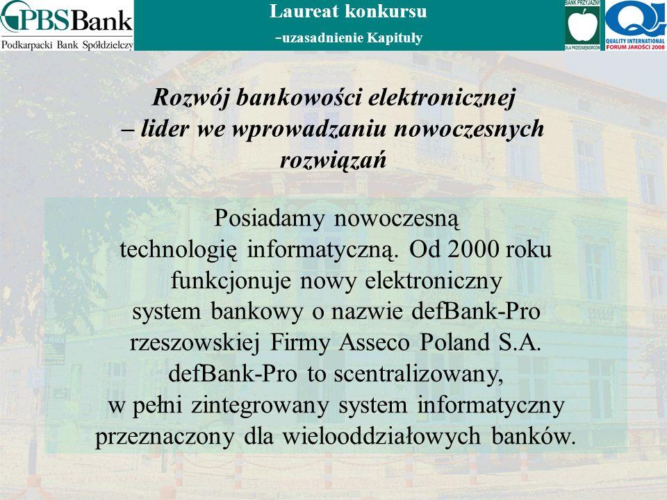 Rozwój bankowości elektronicznej