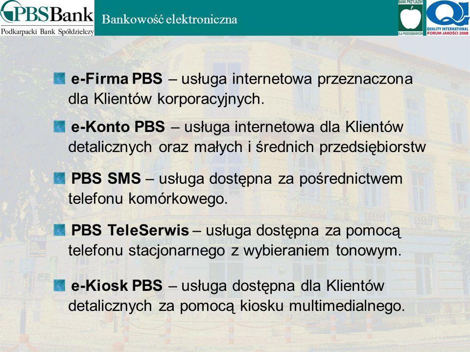 e-Firma PBS – usługa internetowa przeznaczona
