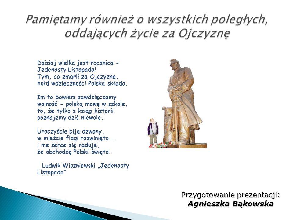 Przygotowanie prezentacji: Agnieszka Bąkowska