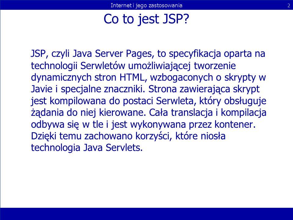 Co to jest JSP