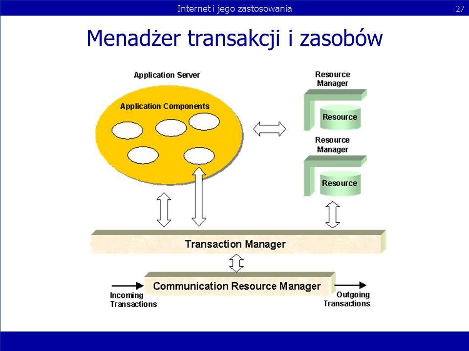 Menadżer transakcji i zasobów