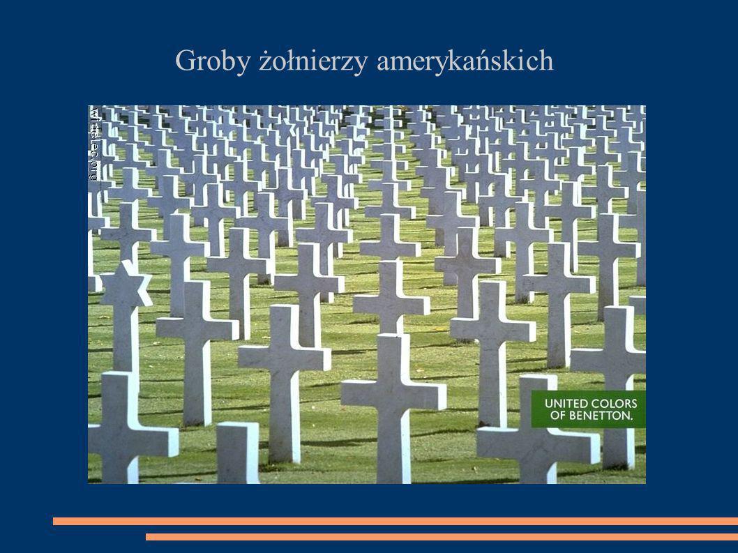 Groby żołnierzy amerykańskich