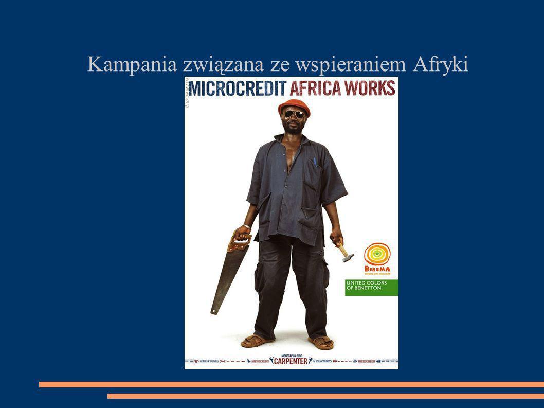 Kampania związana ze wspieraniem Afryki