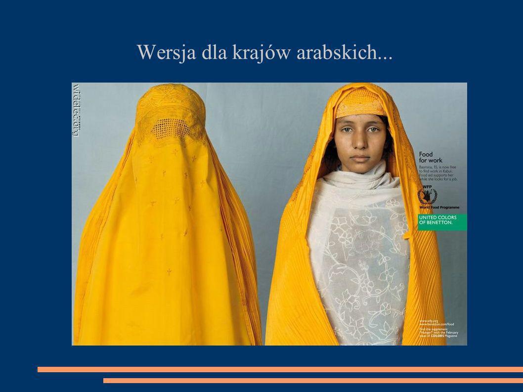 Wersja dla krajów arabskich...
