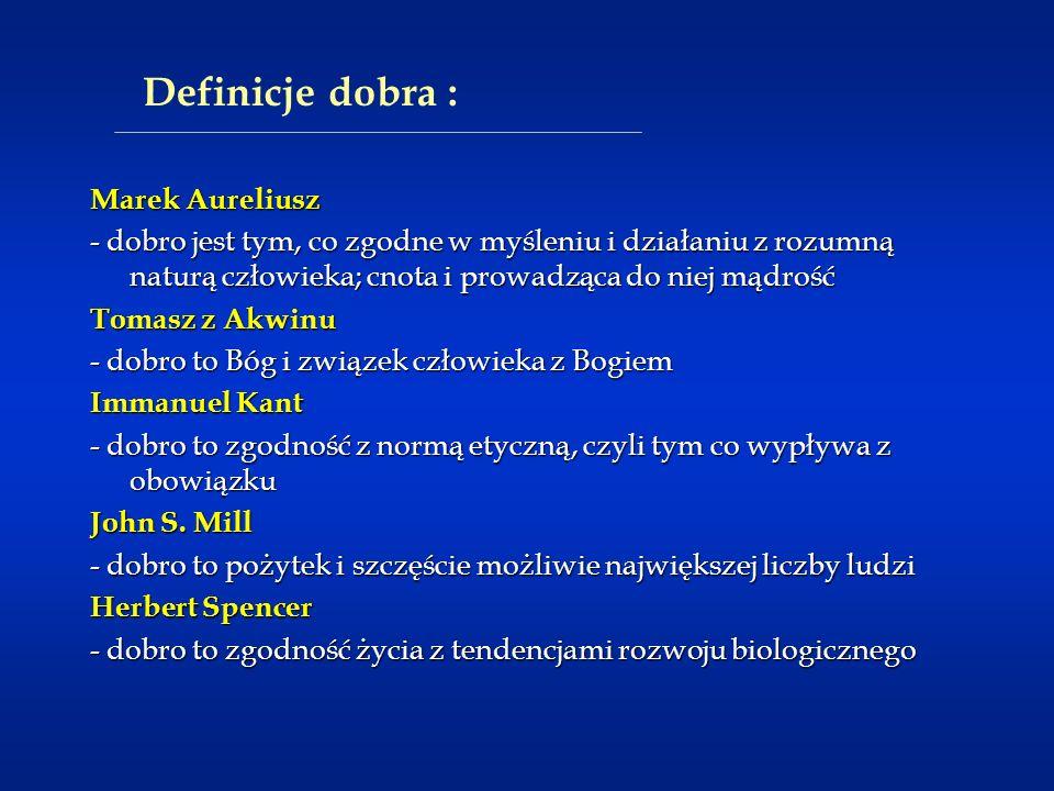 Definicje dobra : Marek Aureliusz