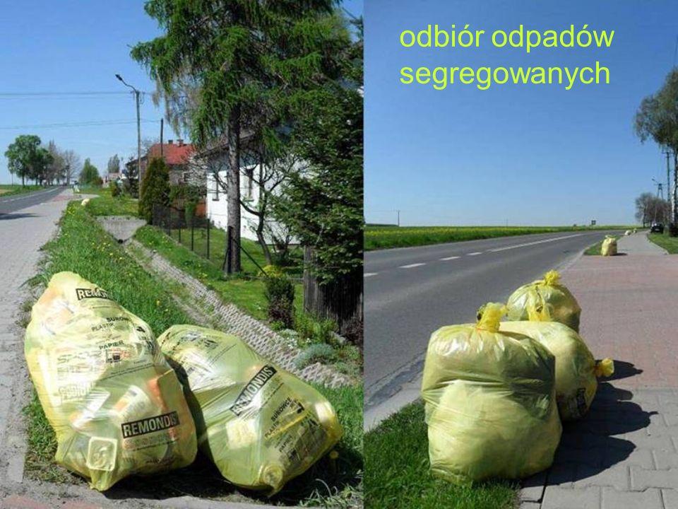 odbiór odpadów segregowanych