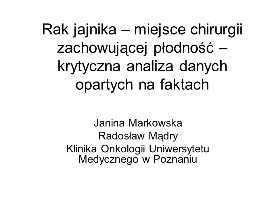 Klinika Onkologii Uniwersytetu Medycznego w Poznaniu