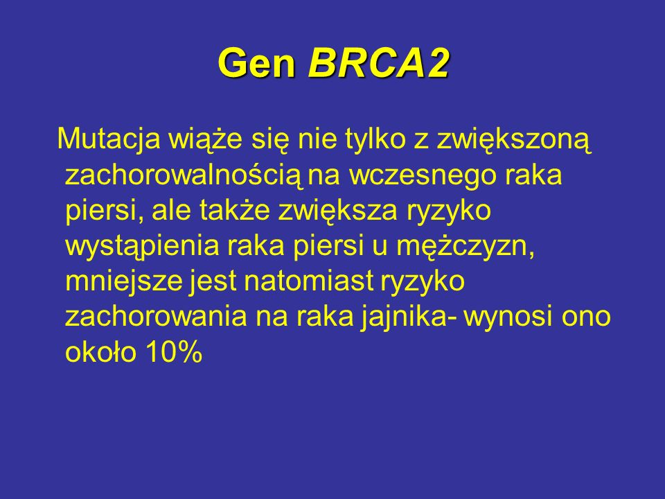 Gen BRCA2