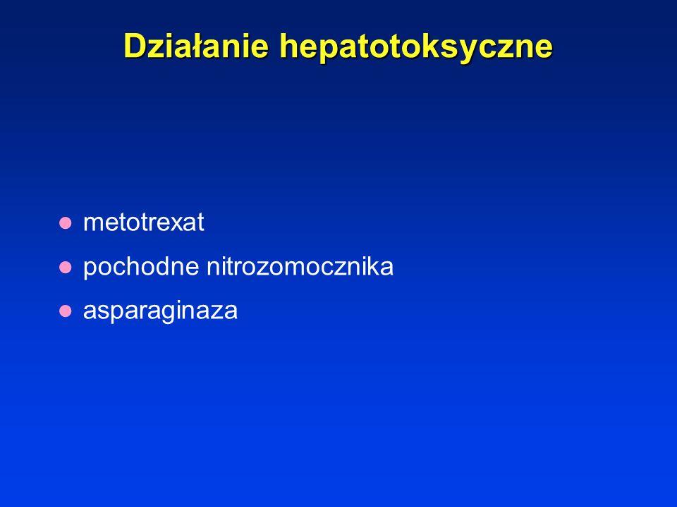 Działanie hepatotoksyczne