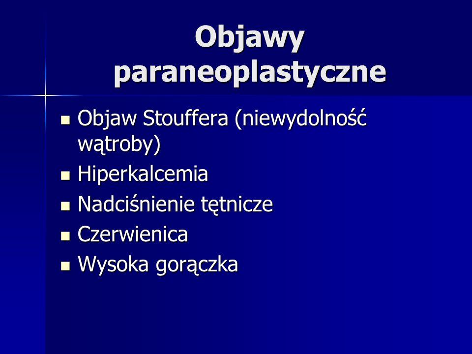 Objawy paraneoplastyczne
