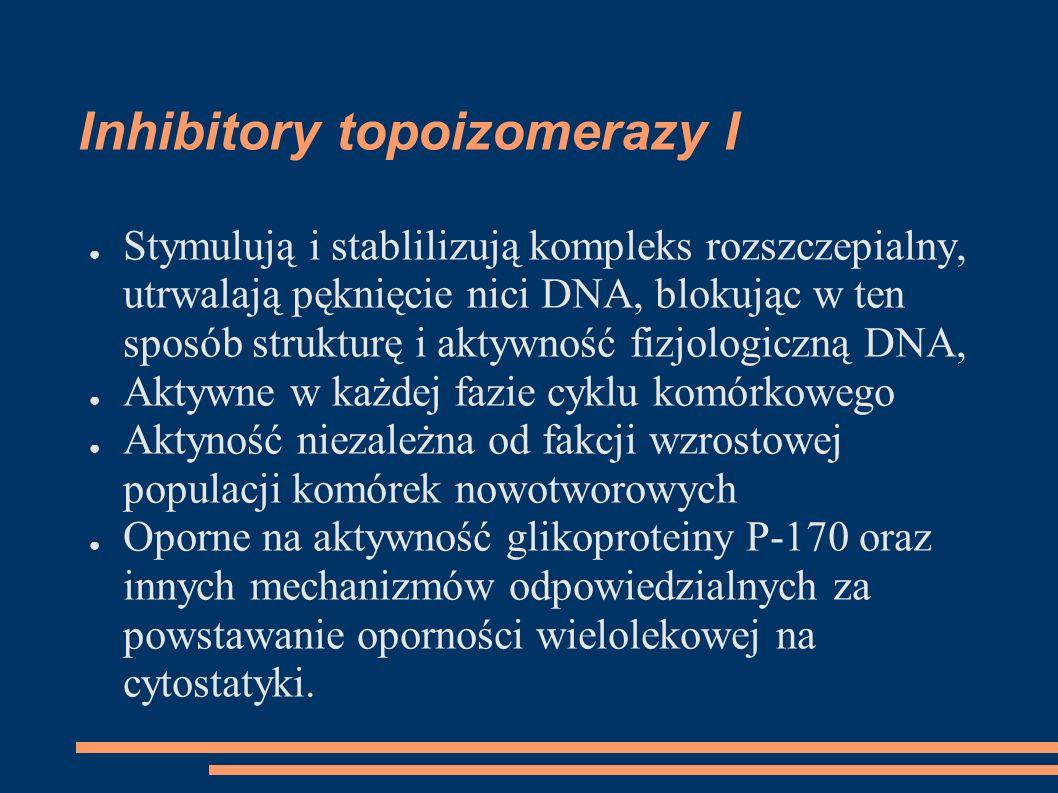 Inhibitory topoizomerazy I