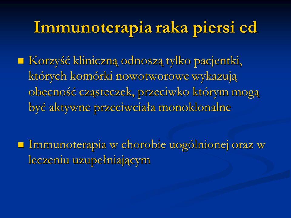 Immunoterapia raka piersi cd