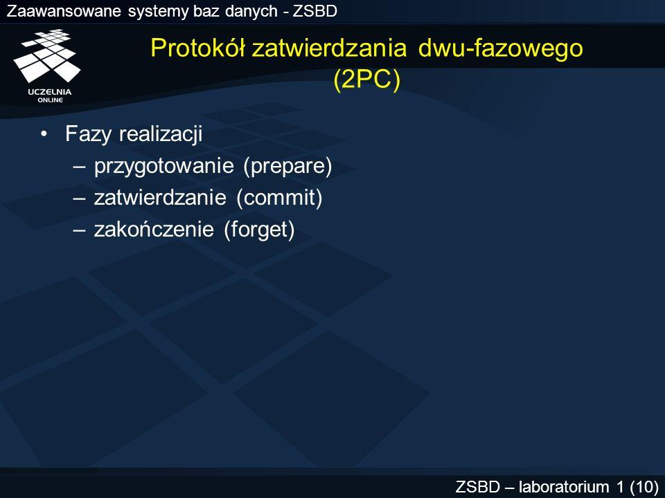 Protokół zatwierdzania dwu-fazowego (2PC)