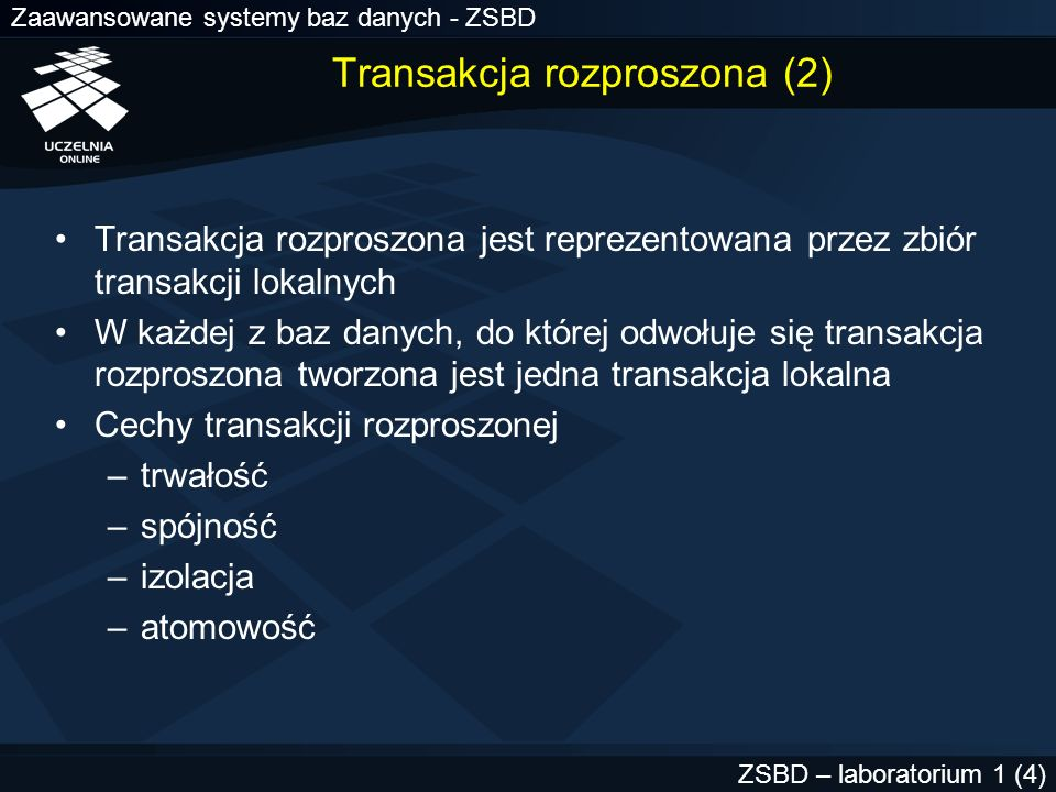 Transakcja rozproszona (2)