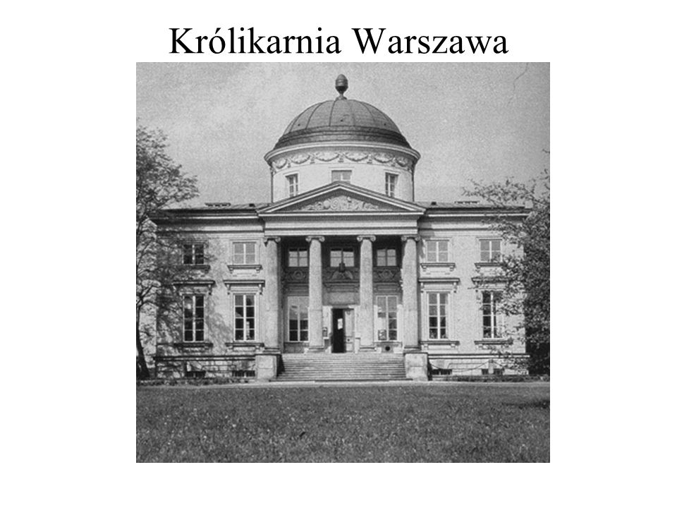 Królikarnia Warszawa Królikarnia Warszawa