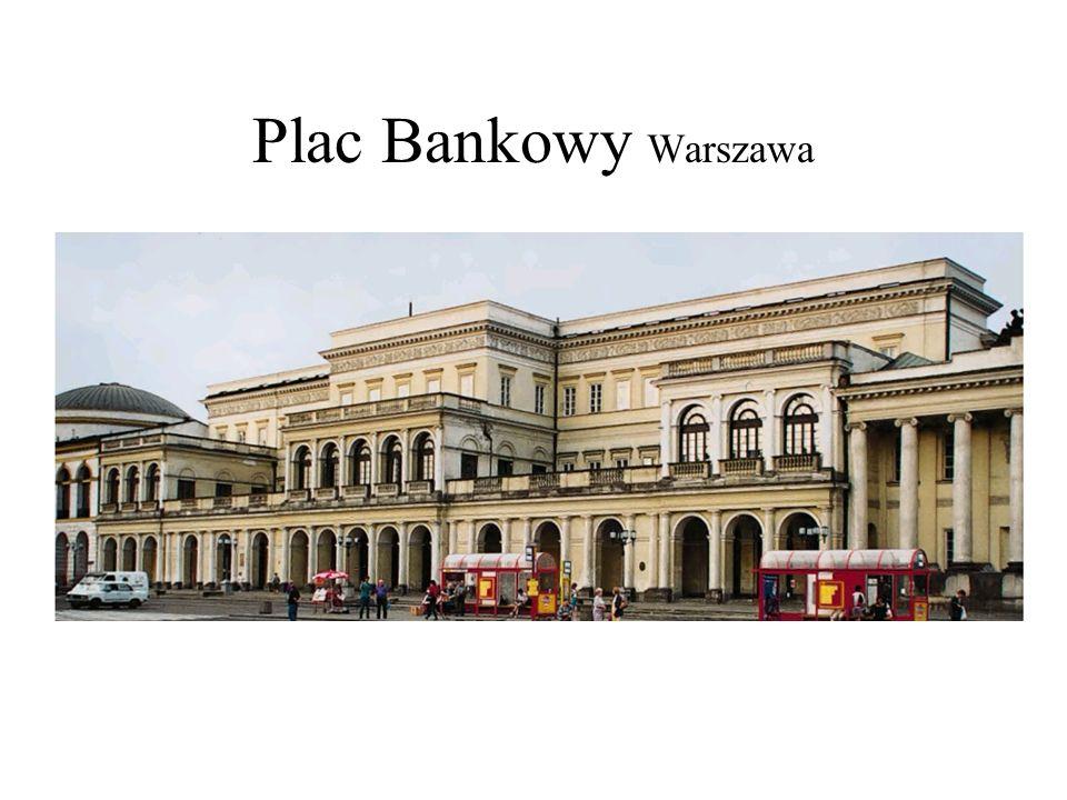 Plac Bankowy Warszawa Corazzi Plac Bankowy