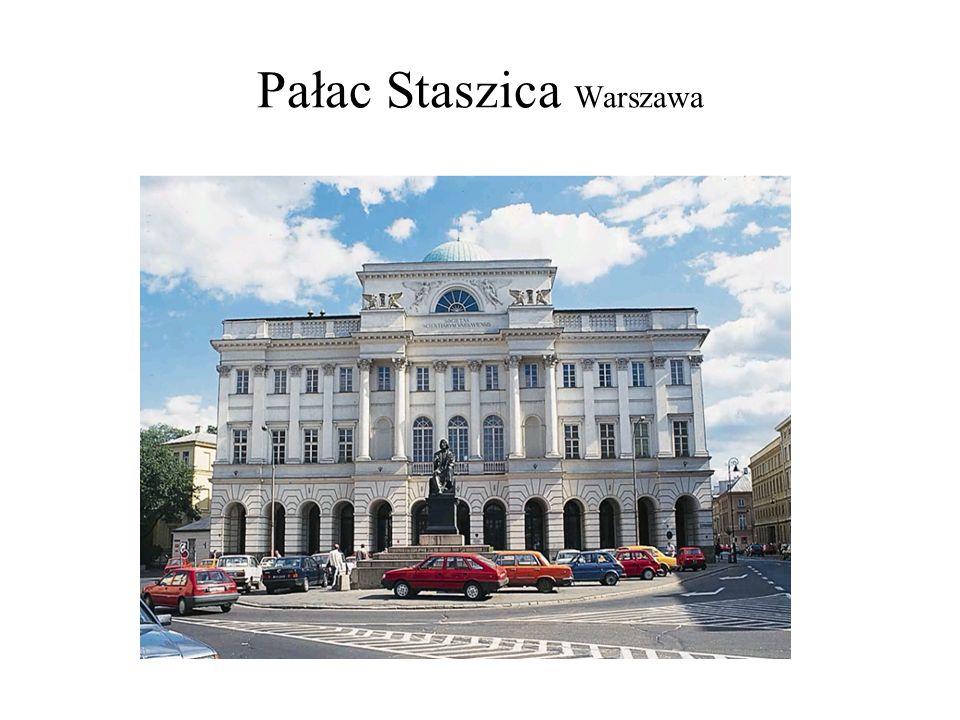 Pałac Staszica Warszawa