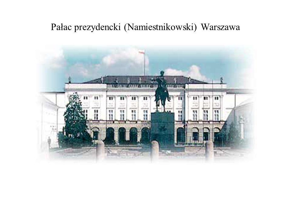 Pałac prezydencki (Namiestnikowski) Warszawa