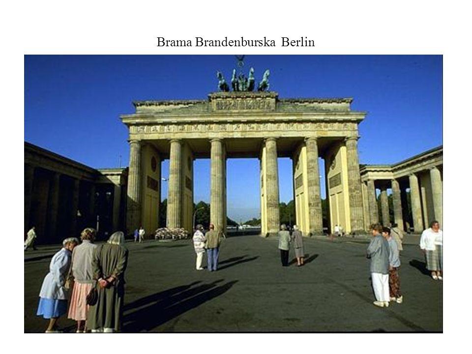 Brama Brandenburska Berlin