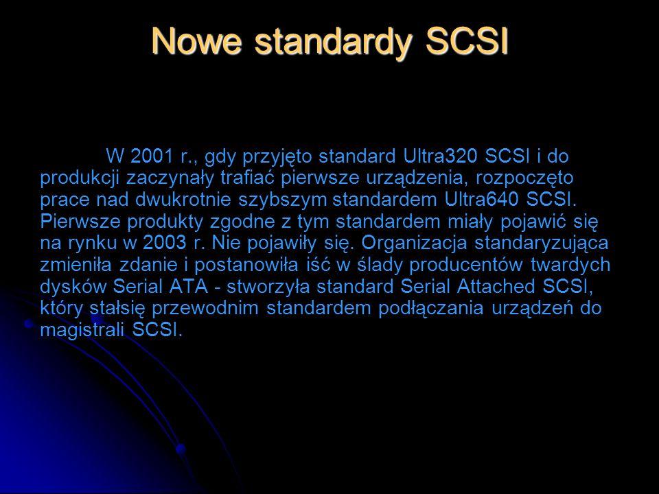Nowe standardy SCSI