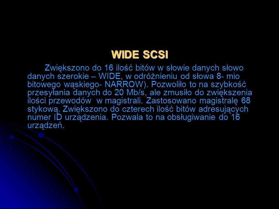 WIDE SCSI