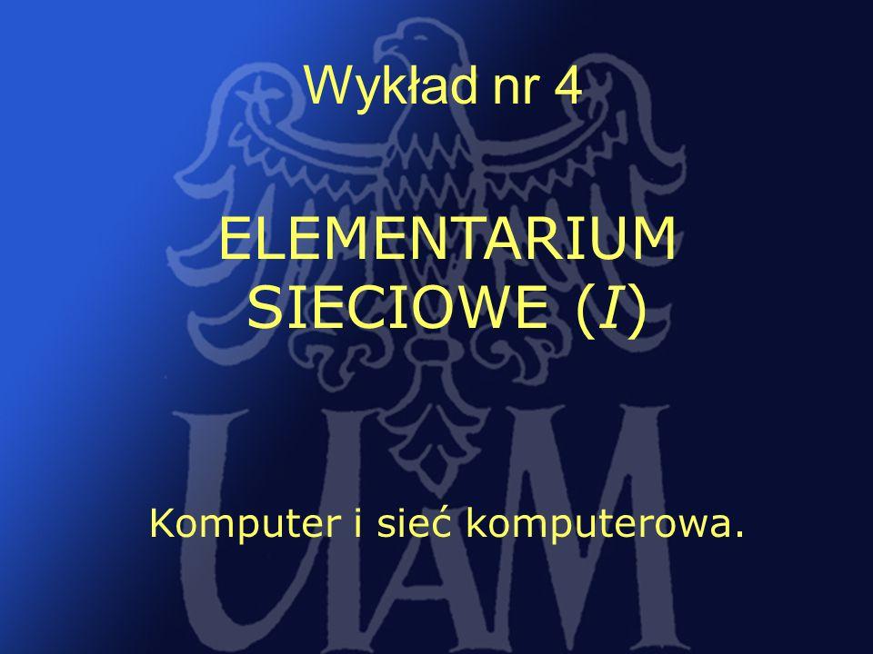 ELEMENTARIUM SIECIOWE (I)