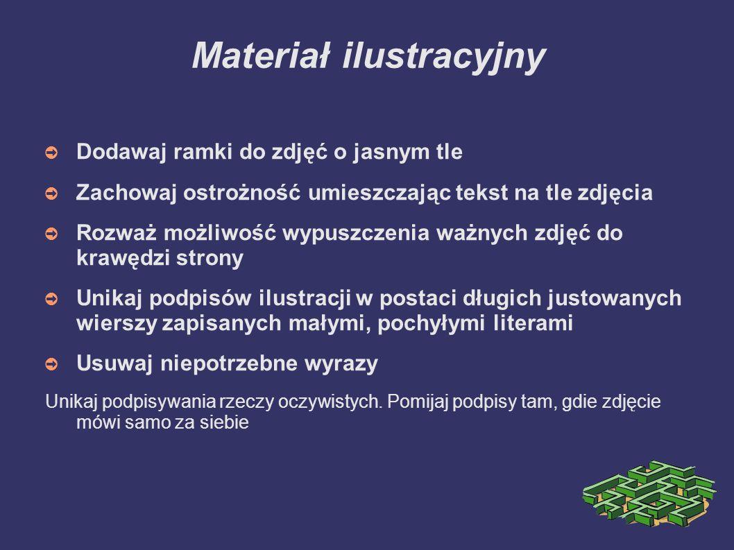 Materiał ilustracyjny