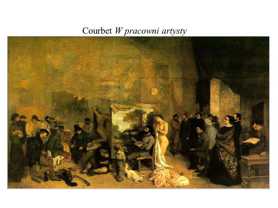 Courbet W pracowni artysty