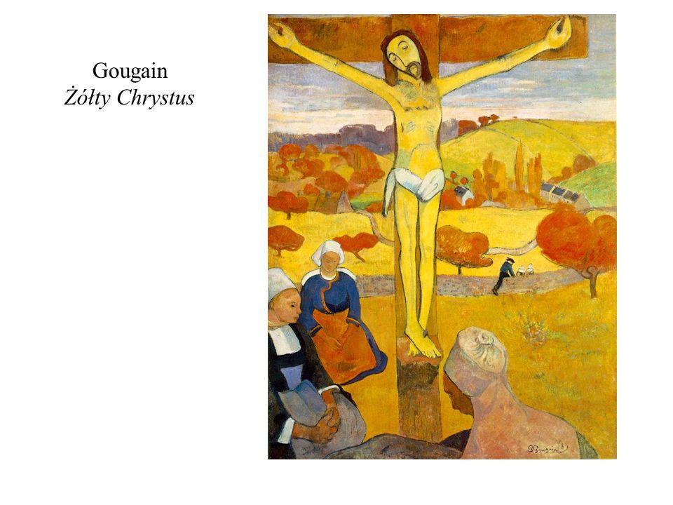 Gougain Żółty Chrystus