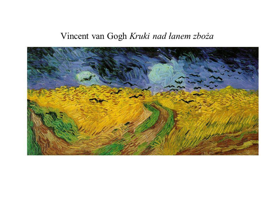 Vincent van Gogh Kruki nad łanem zboża