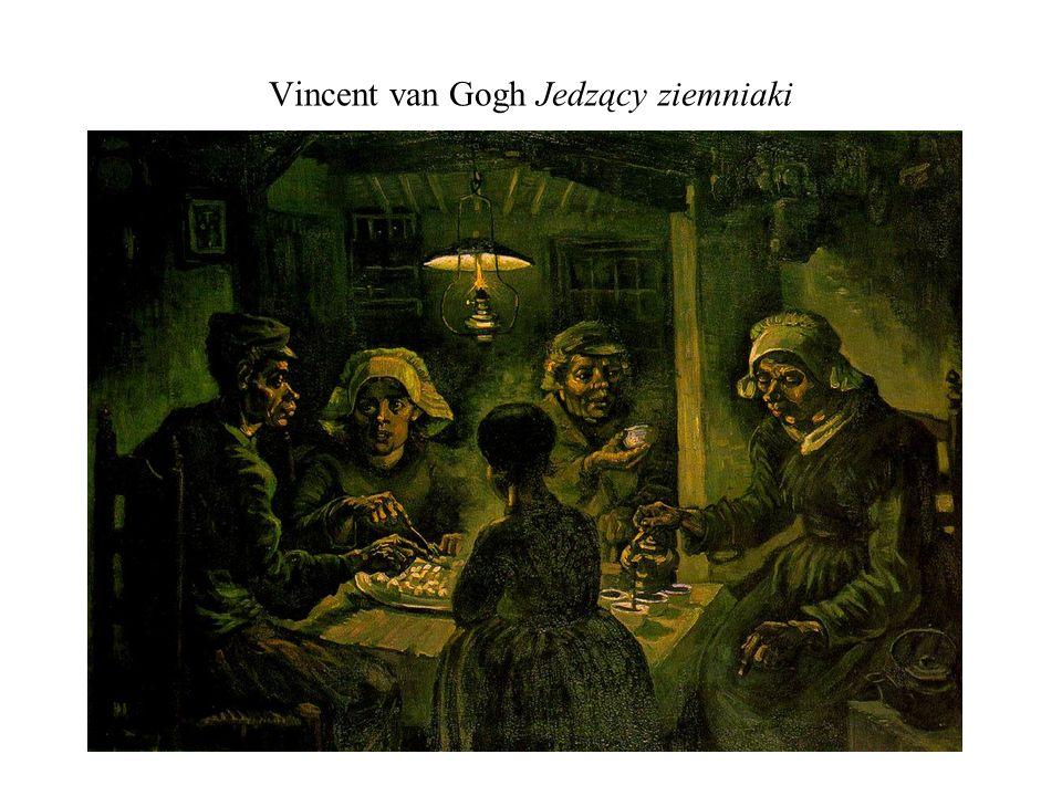 Vincent van Gogh Jedzący ziemniaki