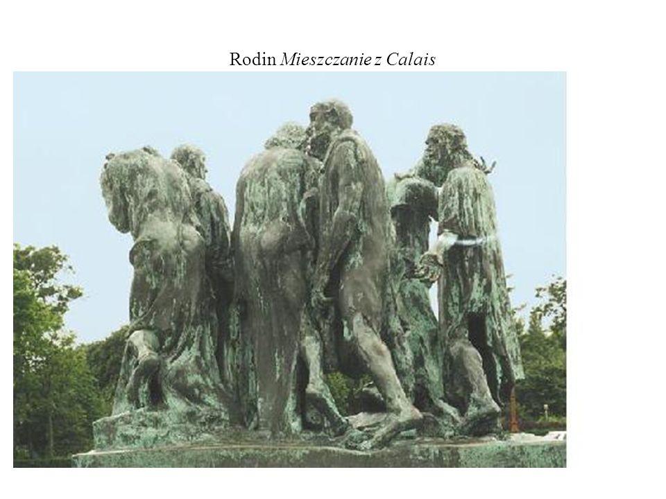 Rodin Mieszczanie z Calais