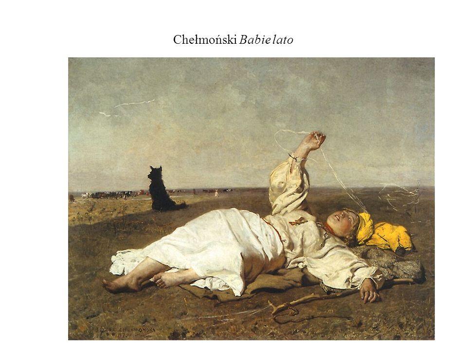 Chełmoński Babie lato
