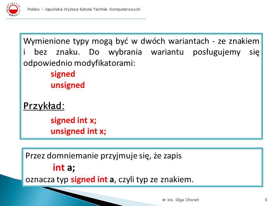 Polsko – Japońska Wyższa Szkoła Technik Komputerowych
