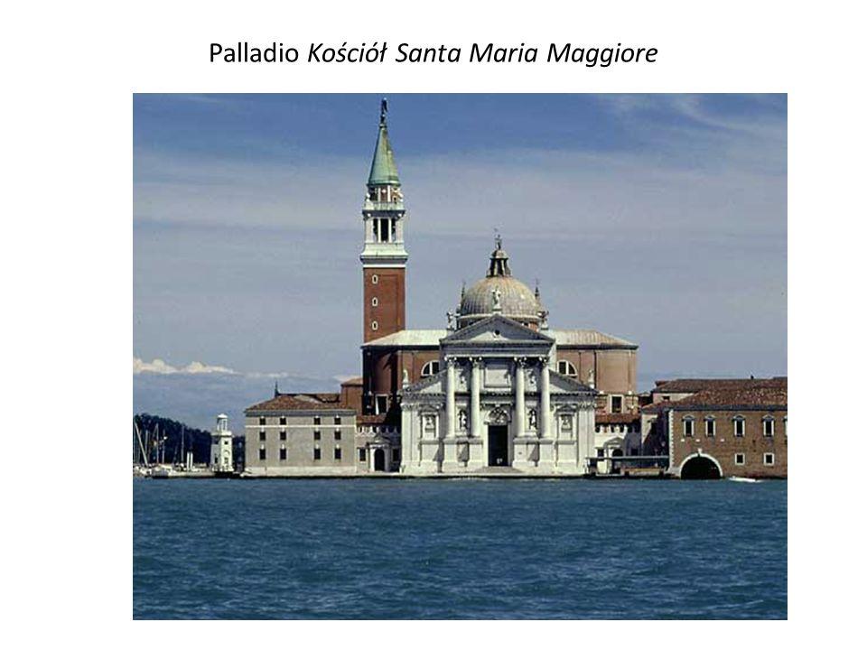 Palladio Kościół Santa Maria Maggiore