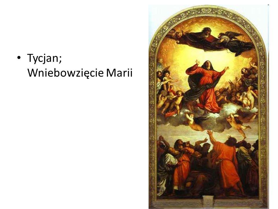 Tycjan; Wniebowzięcie Marii