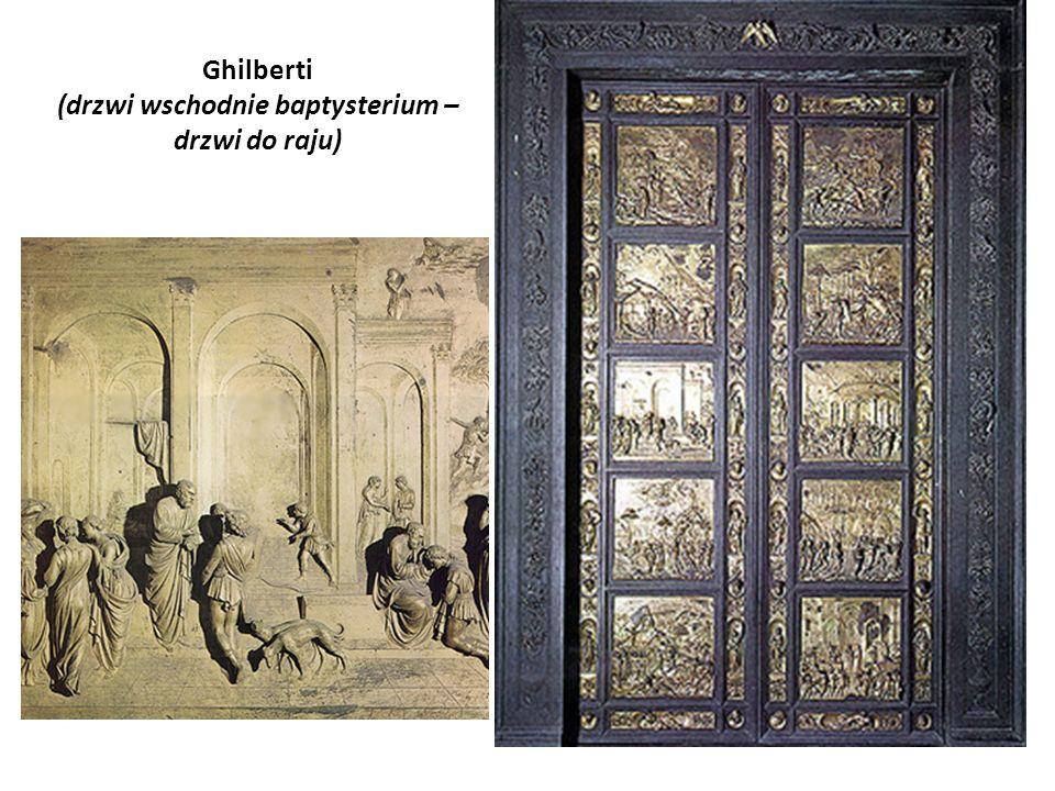 Ghilberti (drzwi wschodnie baptysterium – drzwi do raju)
