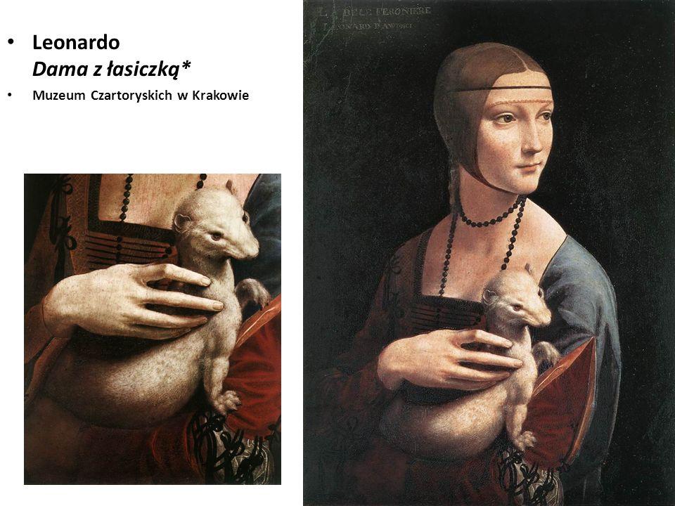 Leonardo Dama z łasiczką*