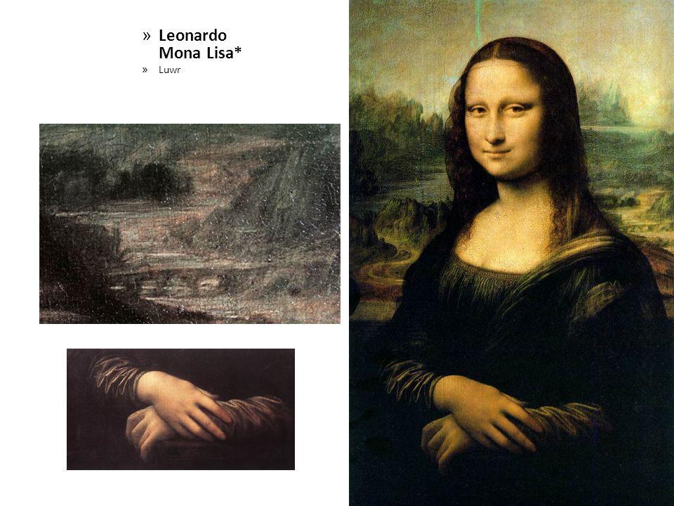 Leonardo Mona Lisa* Luwr