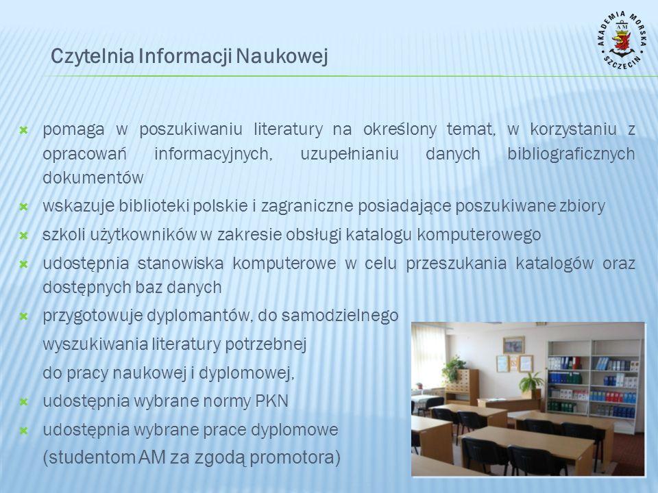 Czytelnia Informacji Naukowej