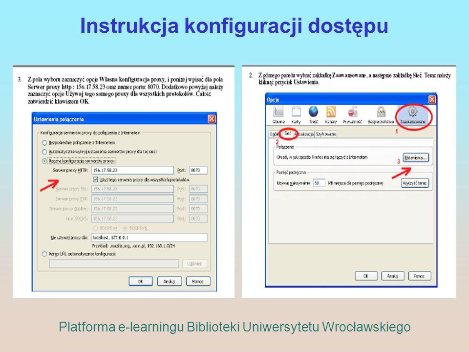 Instrukcja konfiguracji dostępu