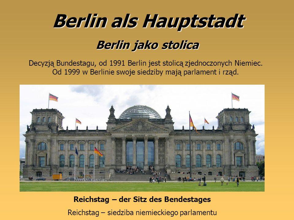 Reichstag – der Sitz des Bendestages
