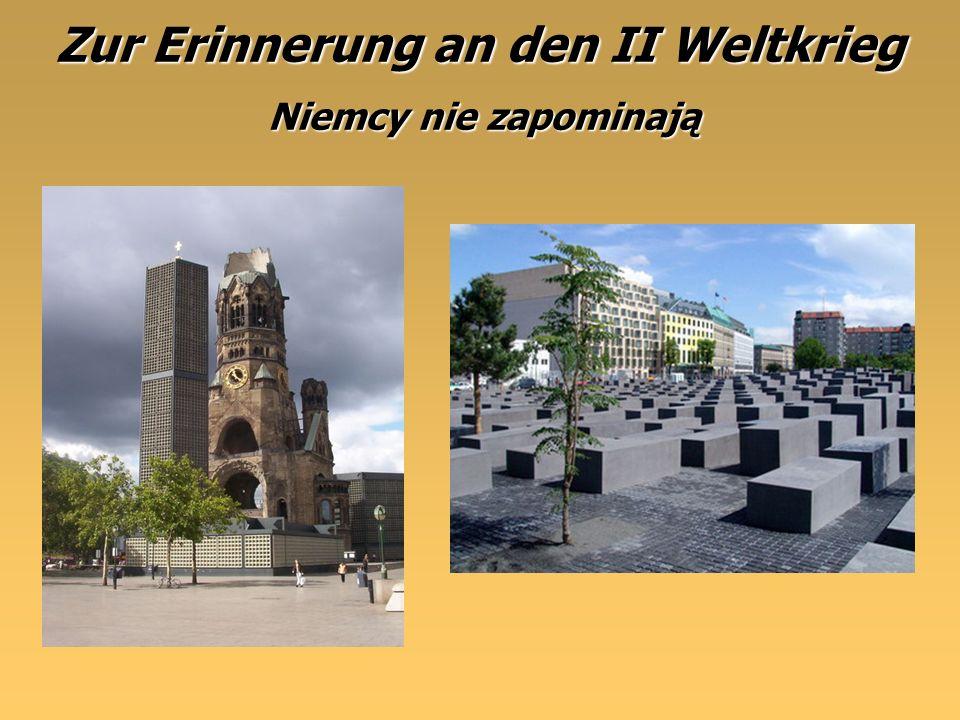 Zur Erinnerung an den II Weltkrieg