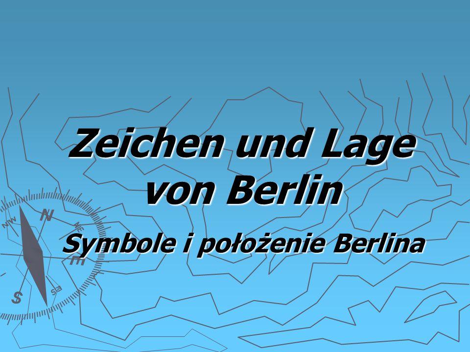Zeichen und Lage von Berlin