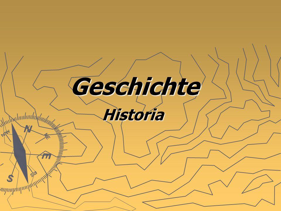 Geschichte Historia