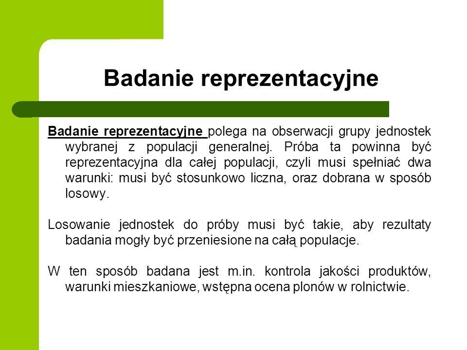 Badanie reprezentacyjne