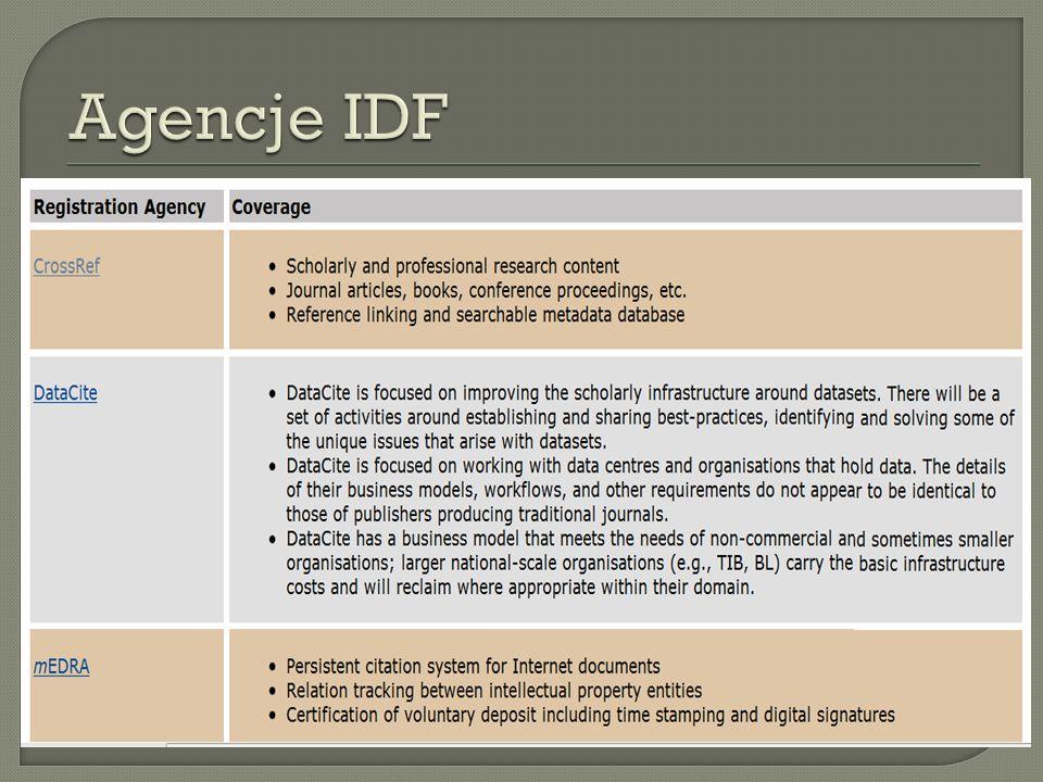 Agencje IDF